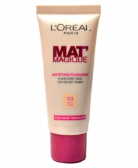 Fond de Ten L'Oreal Mat Magique Mattifying - 03 Light Sand