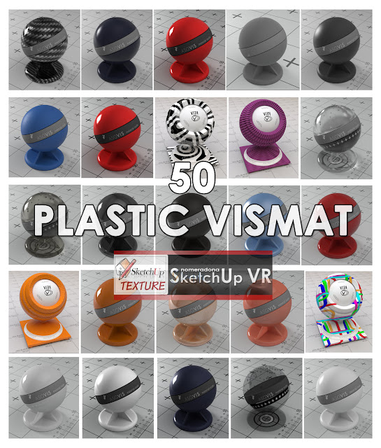 vray for Su vismat plastic