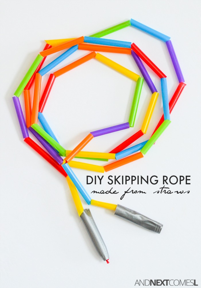 Diy Skipping Rope And Next Comes L