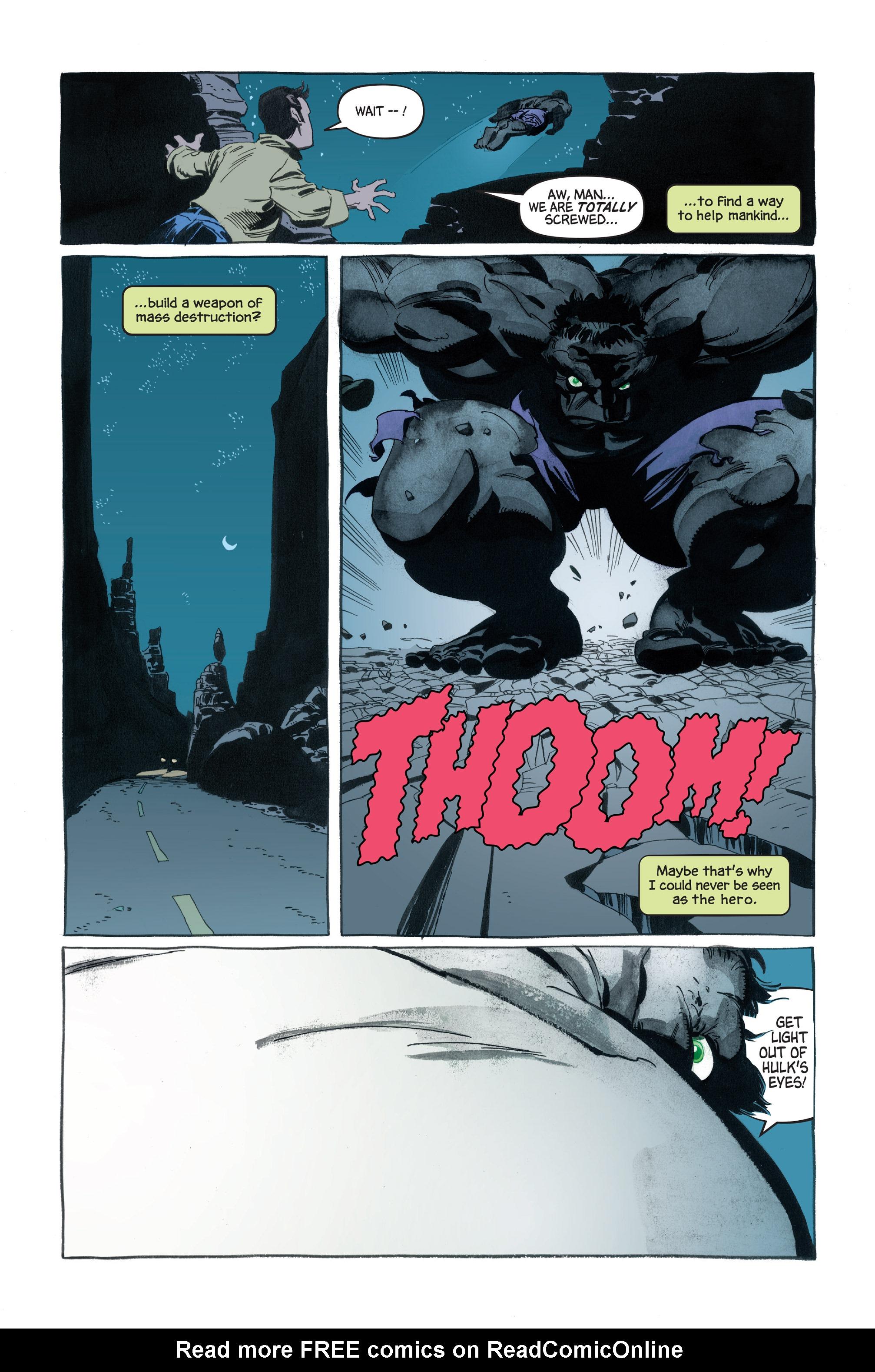 Read online Hulk: Gray comic -  Issue #1 - 16