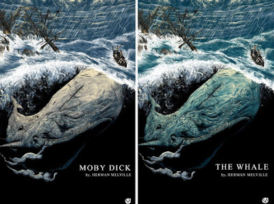 Moby Dick Screen Prints by Zakuro Aoyama x Mad Duck Posters