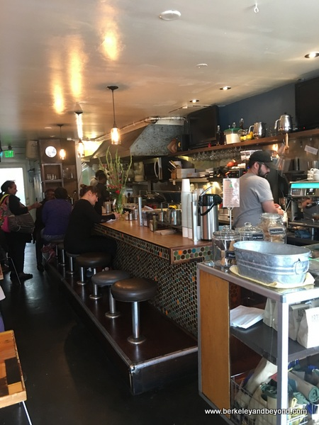 interior of Guerilla Cafe in Berkeley, California