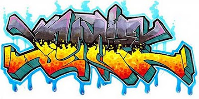 9 Design Style Graffiti Letters Sunie Best