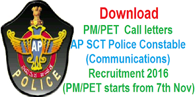 AP Constable Communications Call letters