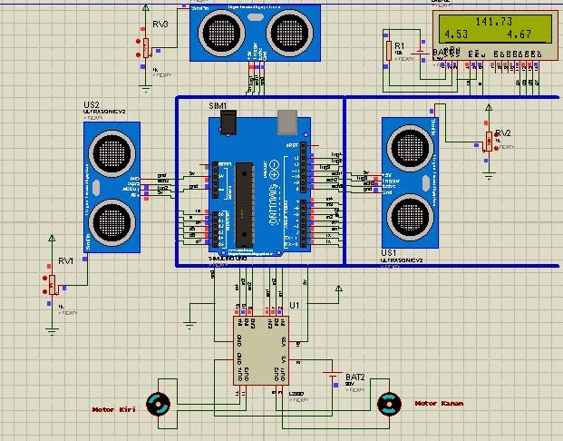 Rangkaian Elektronika Sensor Ultrasonik Info Elektro