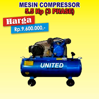 Compressor United 5.5Hp 3Phase