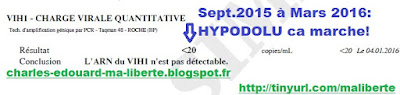 HYPO-DOLU Lafeuillade vih HIV cure Dolutegravir Tivicay Hypodolu charge virale