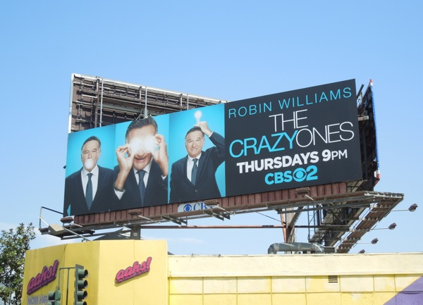 The Crazy Ones season 1 billboard