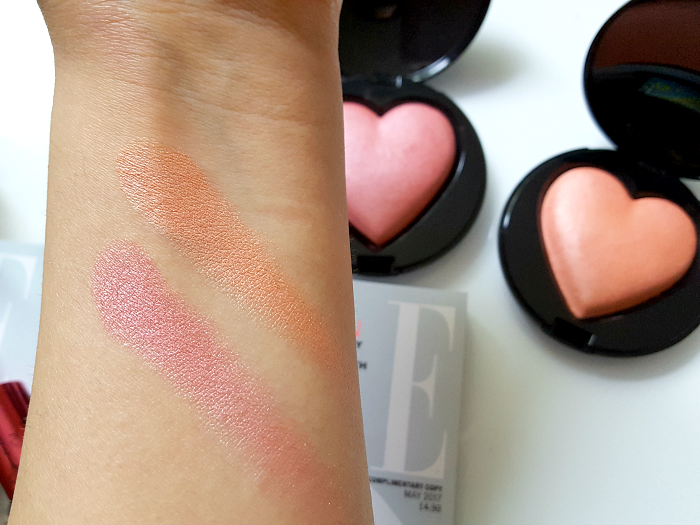 Mary Kay - Beauty that Counts Baked Cheek Powder - je 31.- Euro Swatches