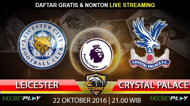 Prediksi Leicester vs Crystal Palace 22 Oktober 2016 (Liga Inggris)
