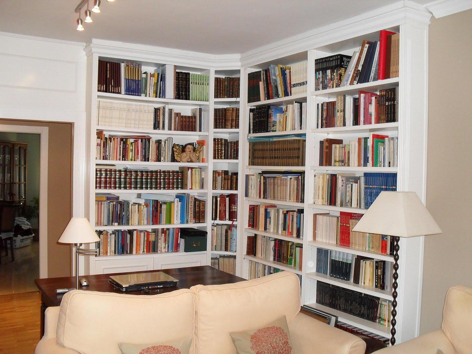librerias a medida madrid muebles librerias lacadas de
