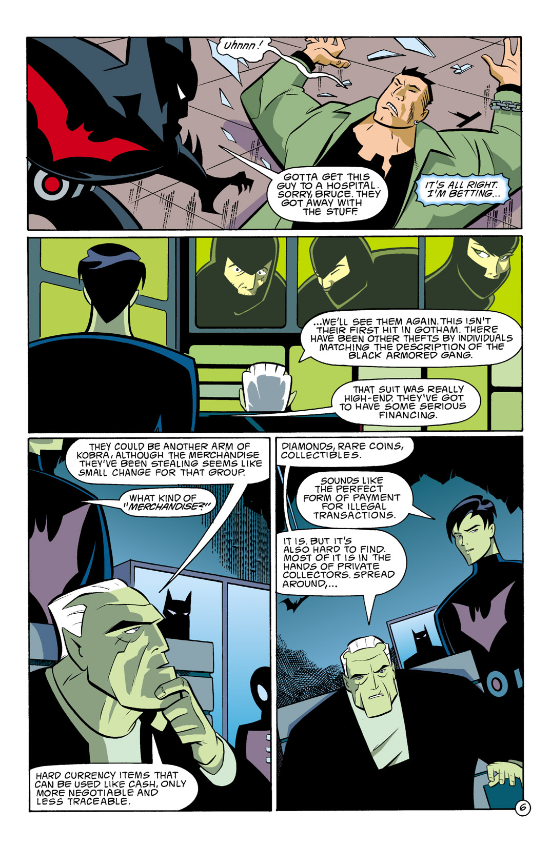 Batman Beyond [II] Issue #2 #2 - English 7