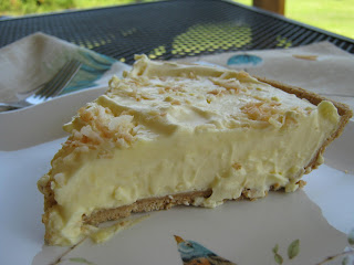 Cool and Creamy Toasted Coconut Cream Pie