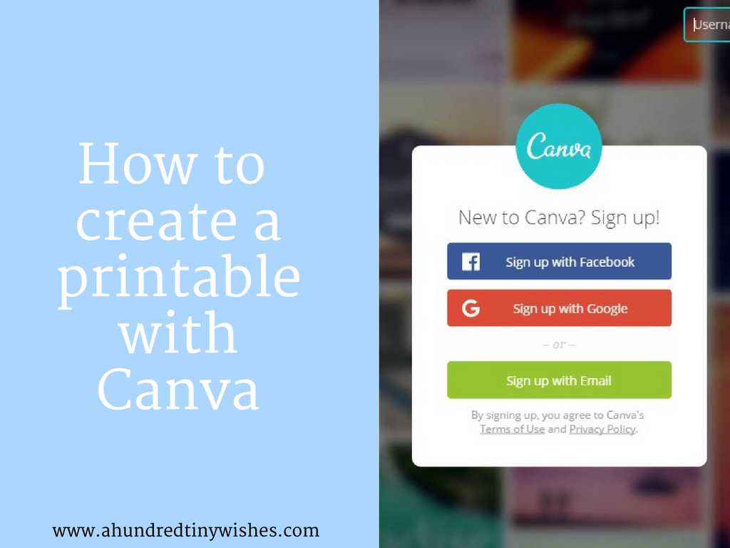image relating to How to Create a Printable titled How towards develop a printable with Canva a hundred small needs