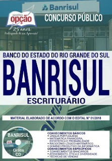Download Apostila BANRISUL 2019 PDF - Escriturário