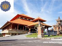 Daftar Fakultas dan Program Studi STP Nusa Dua Bali