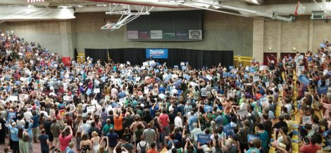 Bernie Sanders in Denver, Colorado