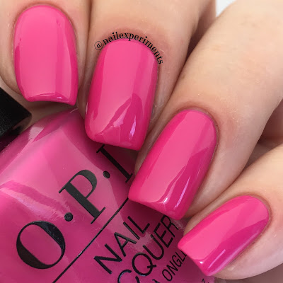 opi lisbon no turning back from pink street swatch
