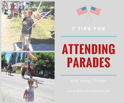 7 Tips for Attending Parades with Young Children