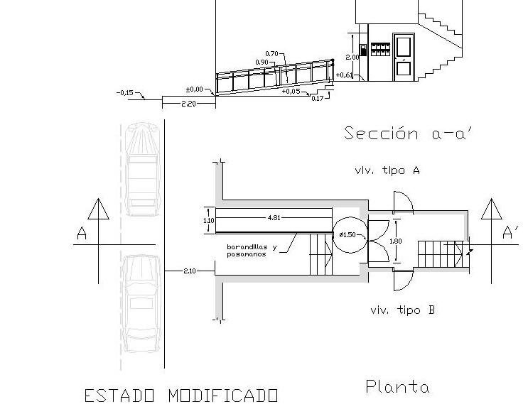 Barquitec Rampa Accesible Para Edificio De Viviendas