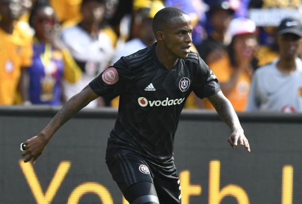 Orlando Pirates attacker Thembinkosi Lorch