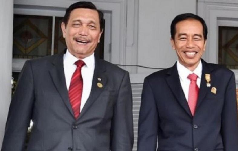 Luhut - Jokowi