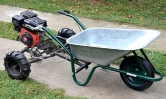 Homemade 200cc WHEELBARROW?