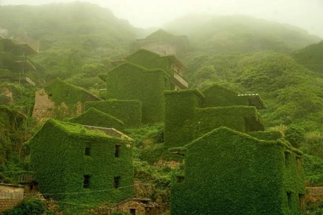 Το «πράσινο φάντασμα» στο… χωριό της Κίνας!