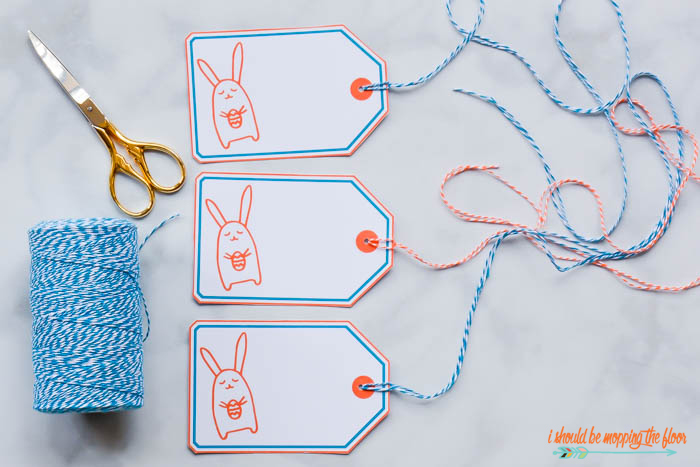 Printable Easter Gift Tag