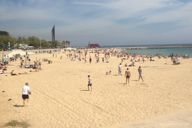 Barcelona Beach, La Playa de Barcelona