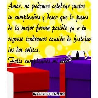 Feliz Cumpleaños Esposo