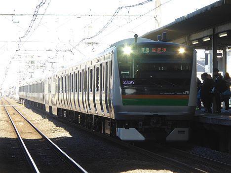 湘南新宿ライン 新宿経由 普通 国府津行き2 E233系