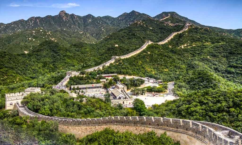 Panorámica de la Gran Muralla China