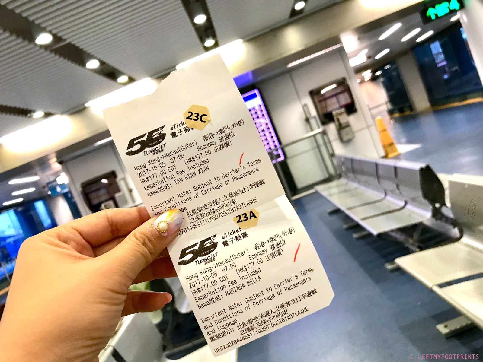 I Leftmyfootprints Macau Trip Ruins Of St Pauls Senado Square Tiket Cotaijet Ferry Round Hongkong There Are Two Terminals To Go By Outer Terminal Or Taipa We Bought The Ticket From Online Beforehand And Chose