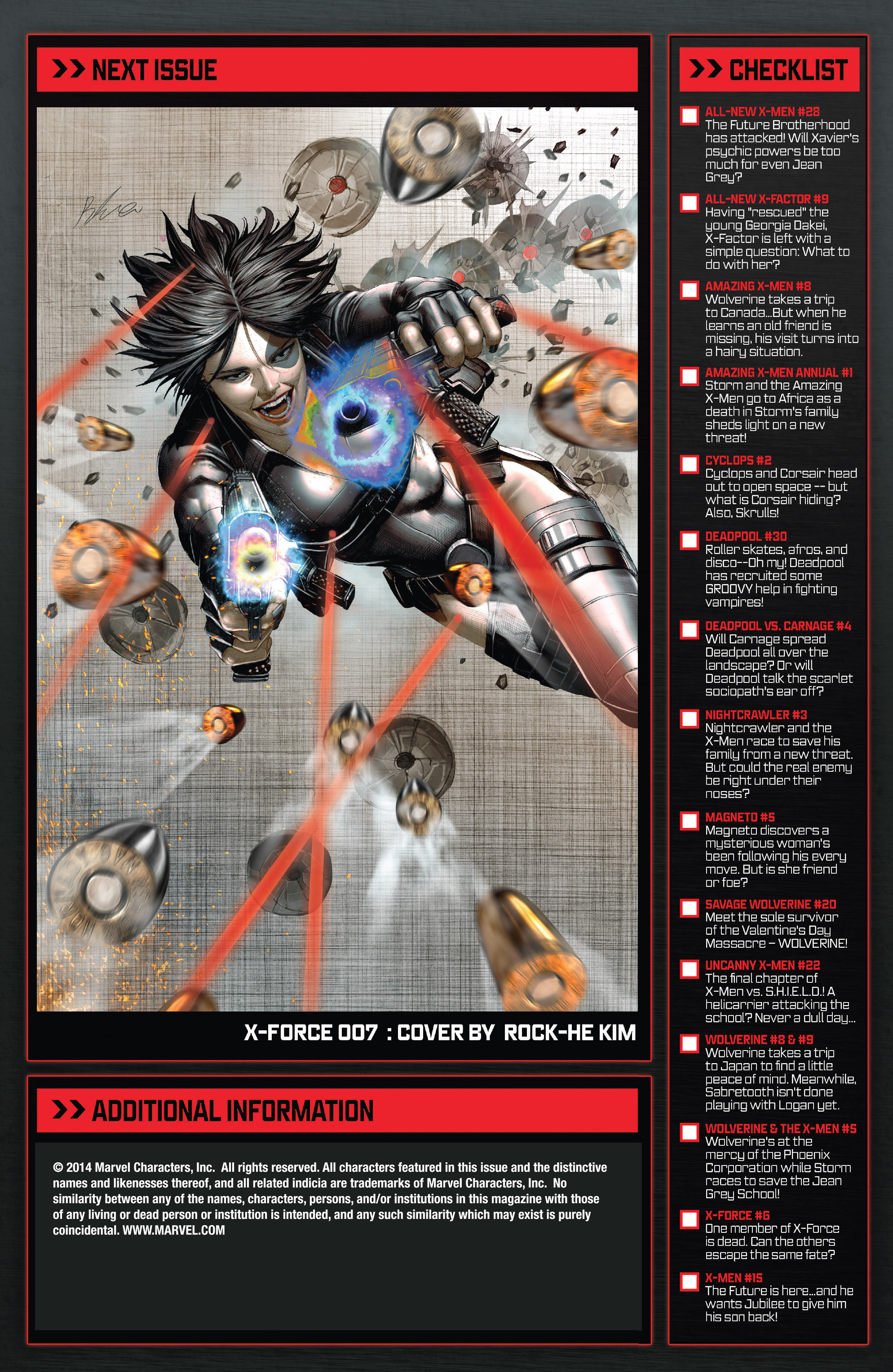 Read online X-Force (2014) comic -  Issue #6 - 21