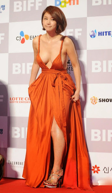 Oh In Hye 오인혜 Hot Red Carpet Dress Photos 03