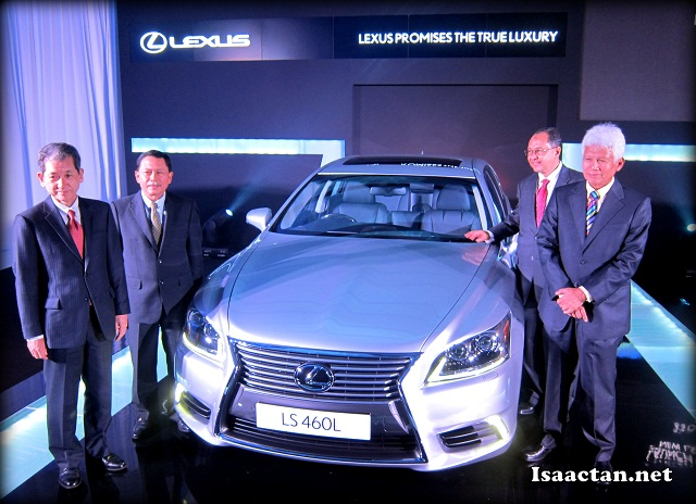New Lexus LS Luxury Sedan Launch Event