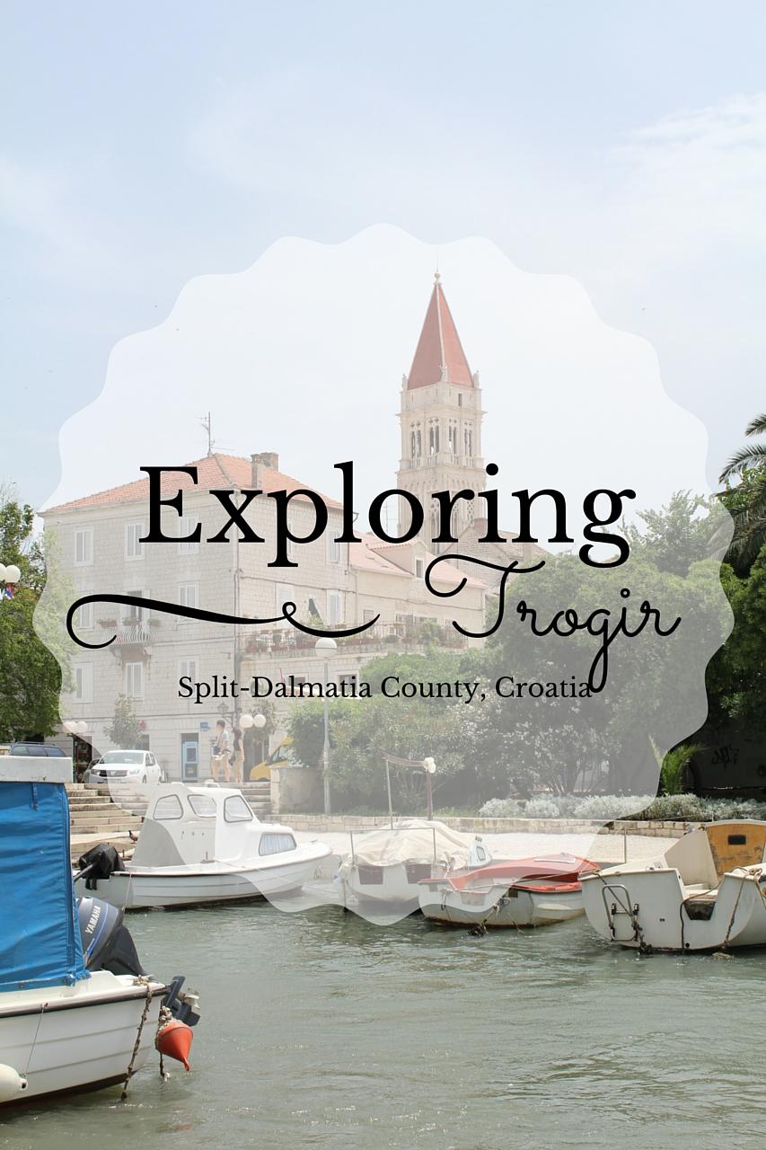 Exploring Trogir, Croatia