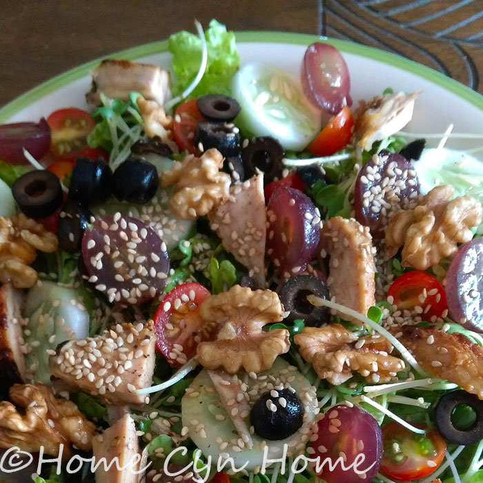a salad isn't just all leaves and no fun, and yes, it can make for a very nutritious and filling meal.