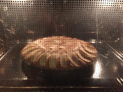 Gluten free, lactose free Apple Tart baking