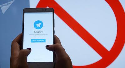 Débloquer Telegram en Russie