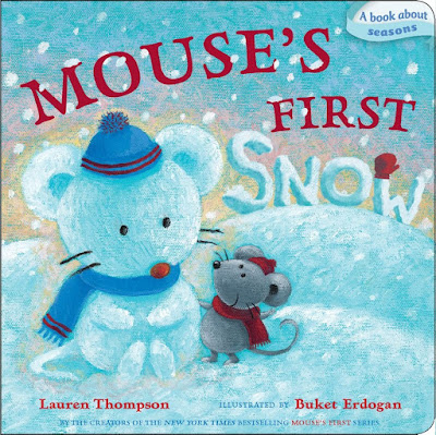 Mouse's First Snow, part of children's book review list about mice