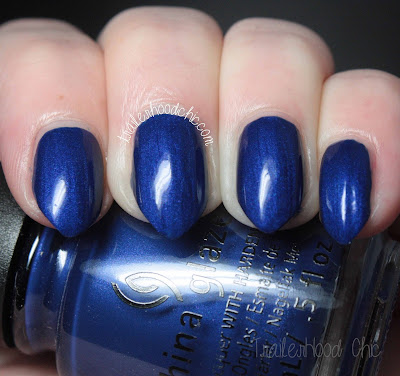 china glaze rebel swatches review combat blue-ts