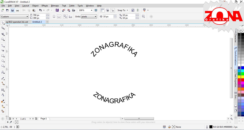 Terbaru 38+ Desain Spanduk Corel Draw X7