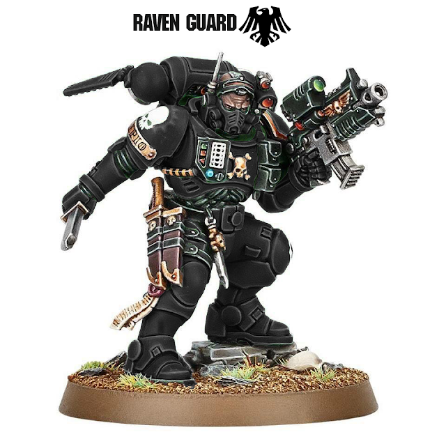 Teniente Infiltrators Raven Guard