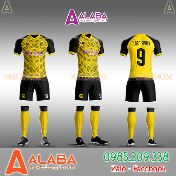 Áo CLB Dortmund 2019 tự thiết kế mã ALB DO10
