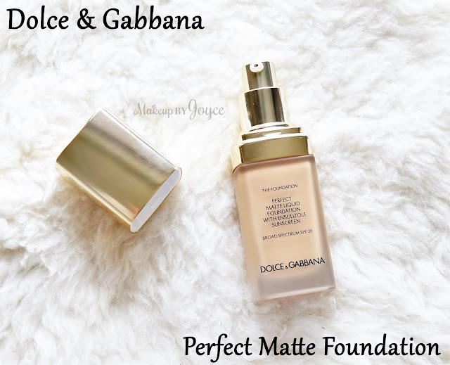 Dolce & Gabbana Perfect Matte Liquid Foundation Broad Spectrum SPF 20 MAC NC30 Review