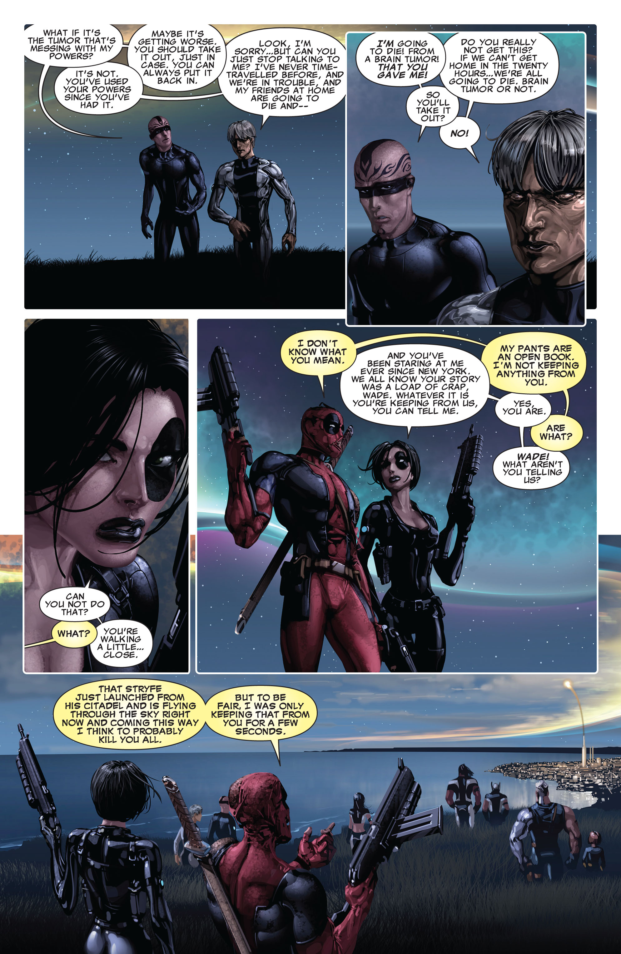 Read online X-Force (2008) comic -  Issue #14 - 17