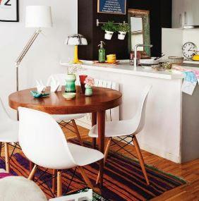 Cách bố trí số lượng ghế Eames phòng ăn đẹp và rộng