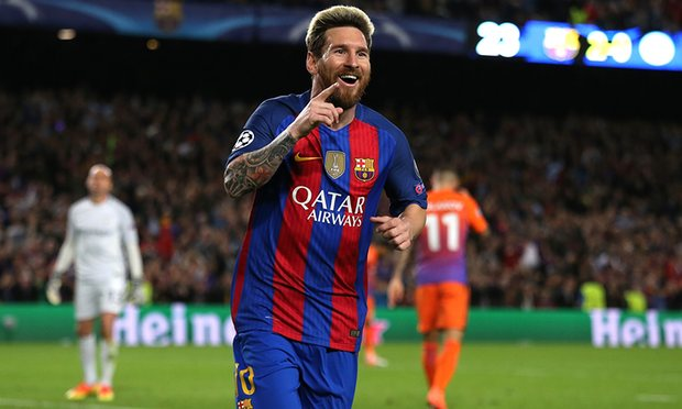 Hasil Liga Champions Barcelona vs Manchester City